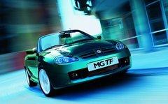 名爵MG TF跑车预售订金一万 6月份可提车
