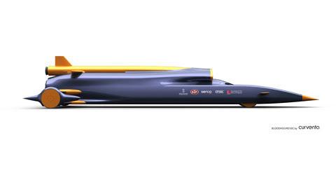 战斗机引擎驱动 超音速汽车时速达1678km 图片浏览高清图片