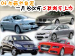 09年春节临近 一月份仅有5款新车上市(图)