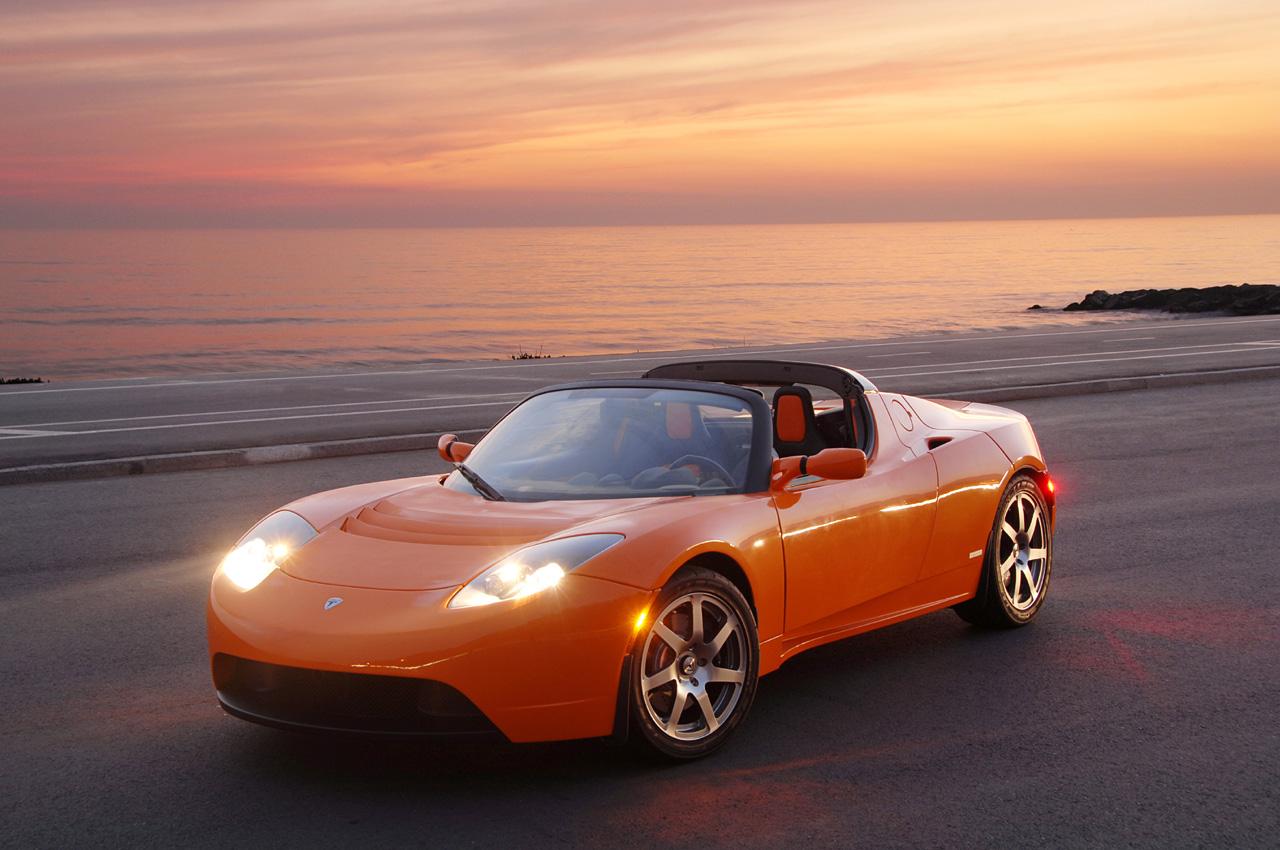 电动汽车 特斯拉汽车高清图片