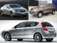 日/韩/自主各一款 本周3款新车相继上市