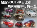 起亚SOUL-今日上市 8款同级车行情一览