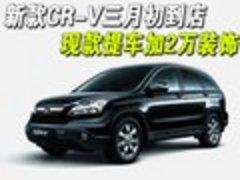 新款CR-V三月初到店 现款提车加2万装饰
