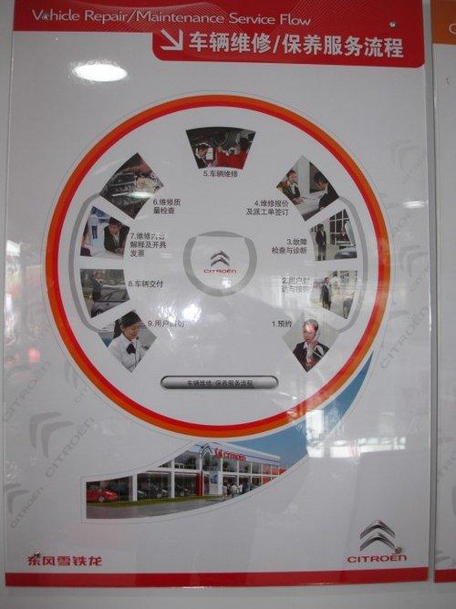 价值回归 东风雪铁龙新品牌形象店 -东风雪铁龙全新形象标识4S店新高清图片