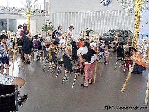 新宝来儿童绘画活动现场花絮和作品展示