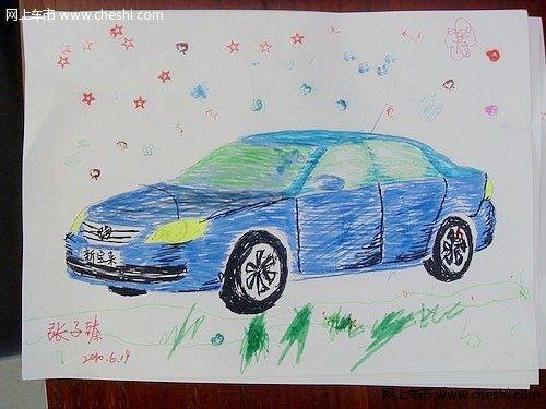 幼儿画画我爱东莞主题