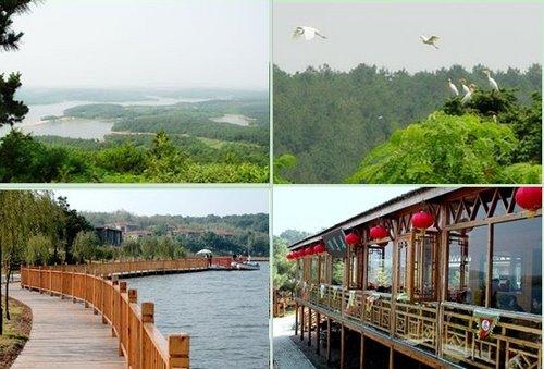 白鹭岛生态旅游风景区位于来安县城境内,是一个集休闲娱乐,旅游度假
