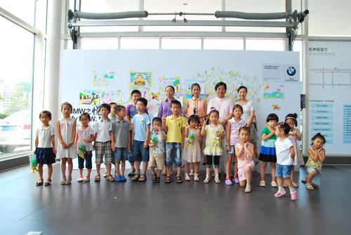 儿童环保绘画活动
