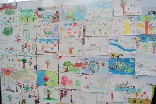 儿童公益环保画