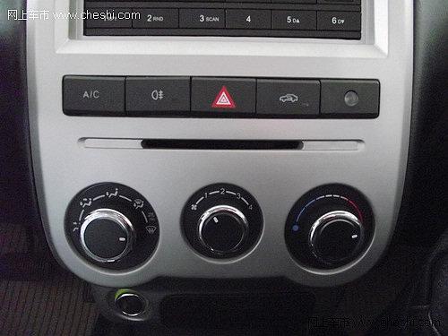 森雅s80的中控台设计还是比较简单的,整体布局设计较为中庸,虽然采用