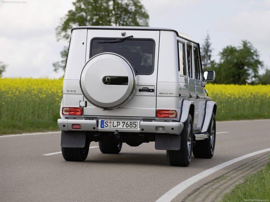 最后的终极版 奔驰推出G65 AMG限量版 图片浏览高清图片