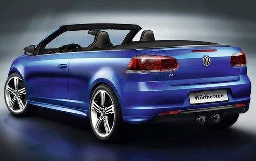 大众发布高尔夫r敞篷概念车 未来或量产高清图片