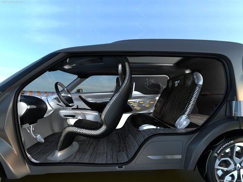 环保多功能MPV 雷诺新款电动概念车发布