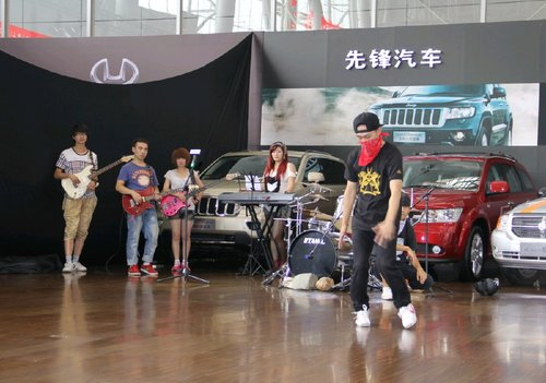 JEEP自由客 哈尔滨车展火爆上市 -1