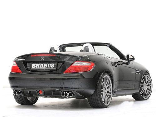黑丝小美人 Brabus精心改造新款奔驰SLK