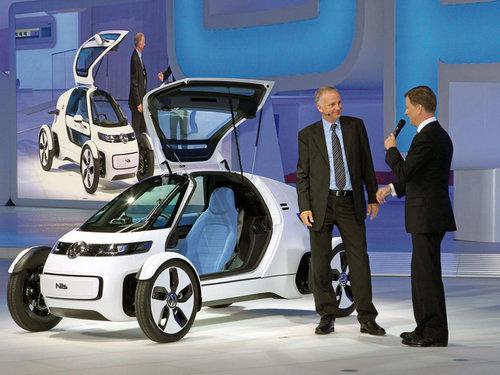 大众Nils概念车发布 未来城市交通工具 -2