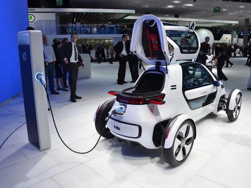 大众Nils概念车发布 未来城市交通工具 -4