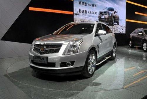2012款凯迪拉克srx成都国际车展首度亮相高清图片