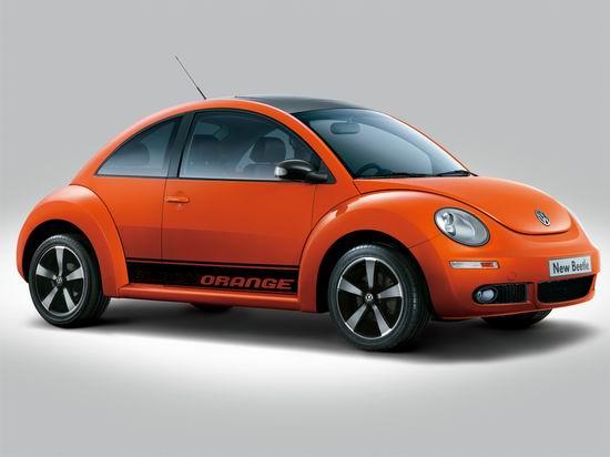 大众汽车新甲壳虫侧面-以创新成就经典 大众新甲壳虫设计解读高清图片