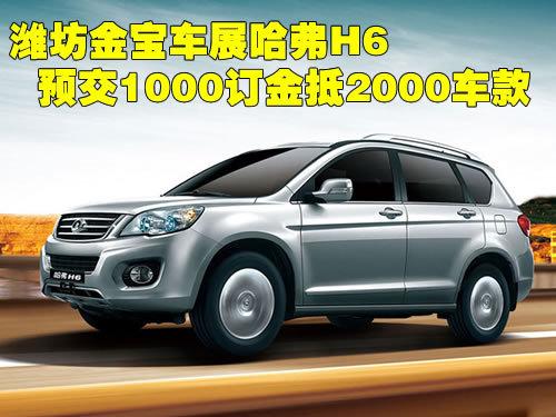哈弗h6在潍坊地区正式上市.   据了解,车展期间长城经销商--高清图片