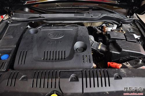增2.4升引擎/外观小改 全新比亚迪F6曝光