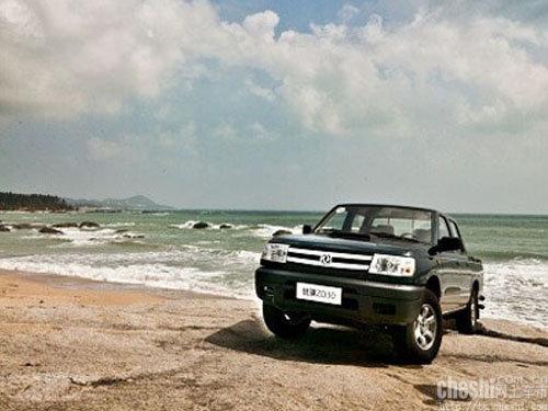 郑州日产锐骐zd30 柴油皮卡海口试驾会高清图片