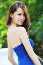 蓝色短裙性感诱惑