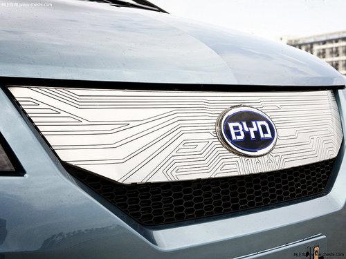 戴姆勒-比亚迪新概念车 亮相2012北京车展 -3