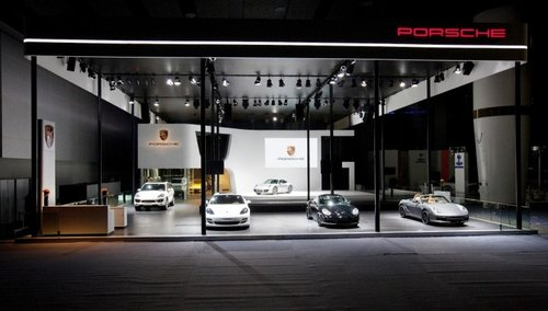 carrera 震撼亮相广州车展  在广州国际会议展览中心琶洲展馆举行的中