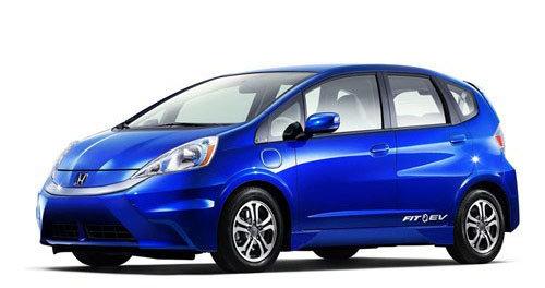 本田飞度纯电动车-CR Z 飞度混动版 本田明年将推多款新车高清图片