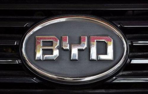 全新设计元素 疑似比亚迪新车标曝光高清图片