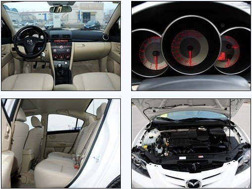 马自达3经典款现车销售 最高优惠达万元高清图片