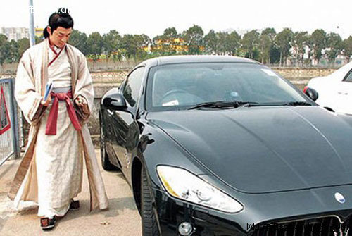 林峰酷爱玛莎拉蒂 自力更生富二代