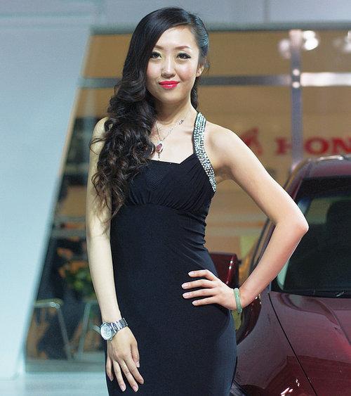 2012甘肃国际汽车交易会美女模特汇总