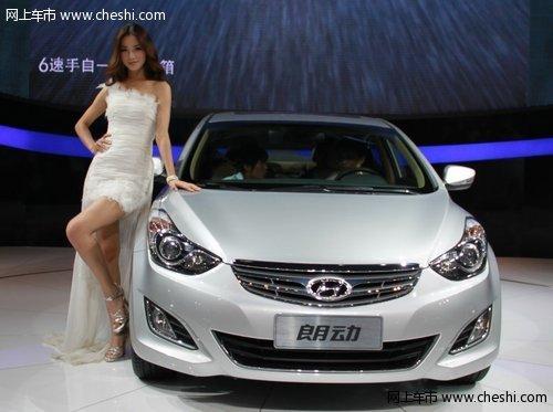 朗动领衔北京现代全系亮相青岛国际车展
