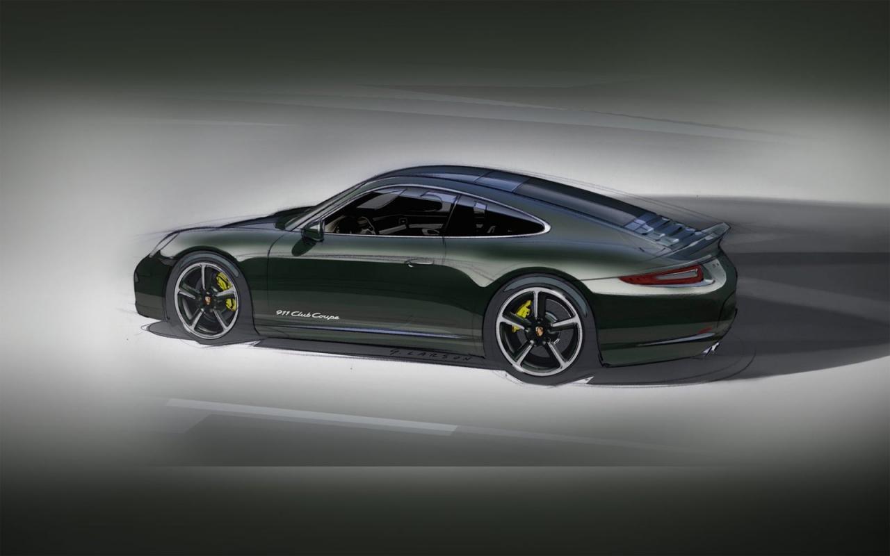 保时捷911 club coupe特别版 限量13辆 图片浏览 高清图片