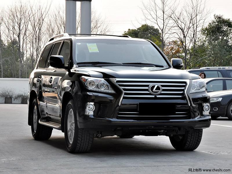 雷克萨斯lx570现车 天津特价优惠50高清图片