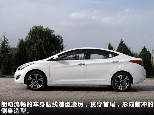 北京现代朗动_新造型高配置 北京现代朗动兰州实拍