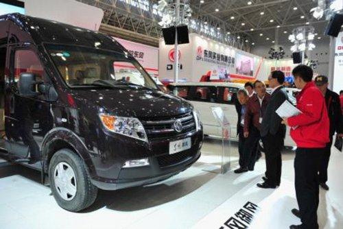 东风汽车携11款车型出击中国商用车展高清图片