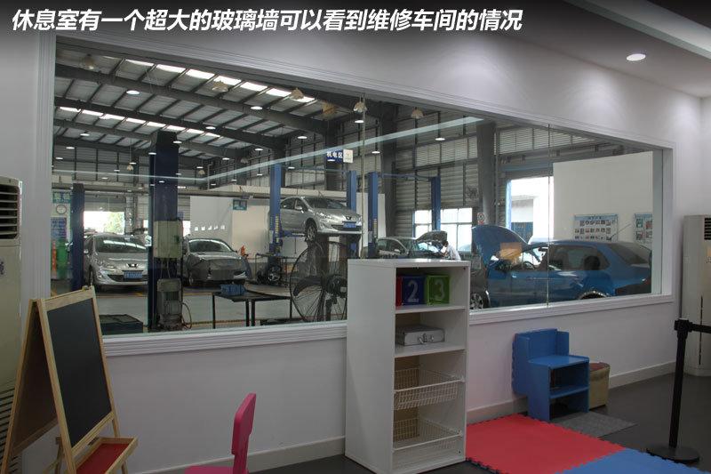 广州鸿标东风标致4S店展厅升级改造实拍高清图片