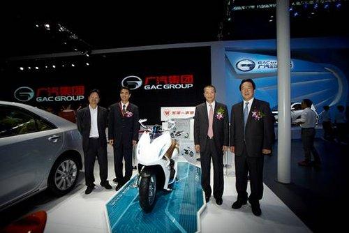 2012广州国际汽车展  五羊-本田惊艳亮相