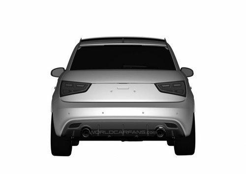 奥迪RS1专利图曝光 外观设计更简约动感