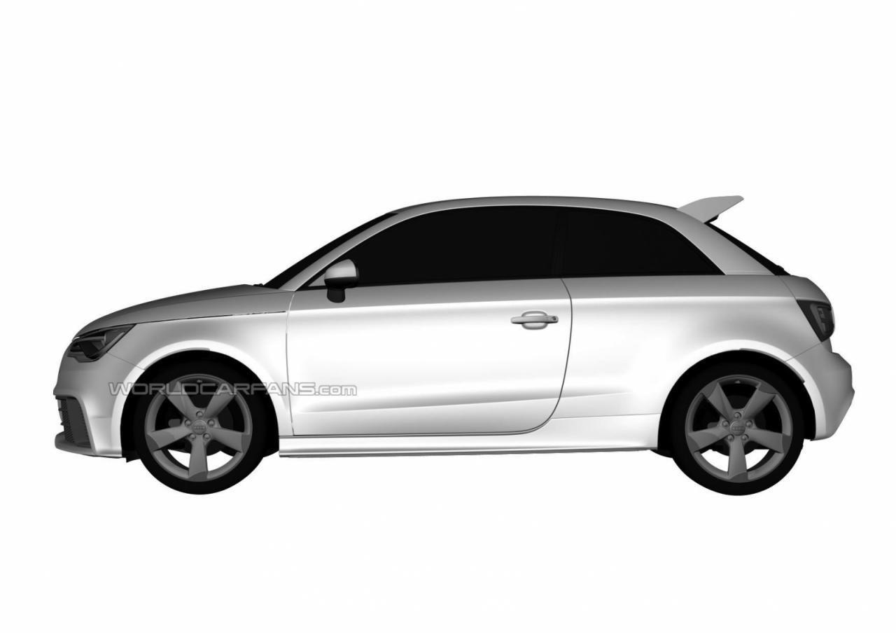 车市首页 新闻 奥迪rs1专利图曝光 外观设计更简约动感