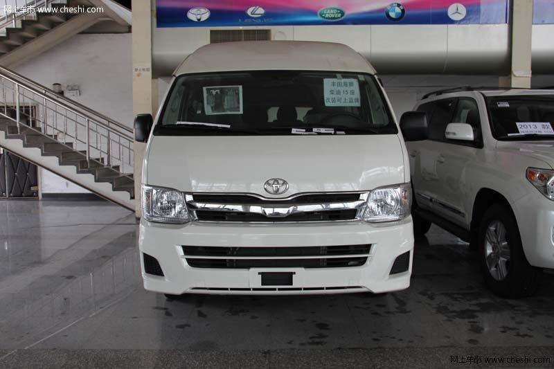 丰田海狮13座面包车 现车最新改装内饰高清图片