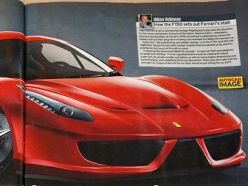 明年,法拉利即将发布全新一代旗舰车型法拉利F150(曾称F...