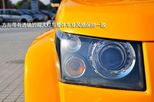 车市到店实拍北京汽车B40 重走青春路