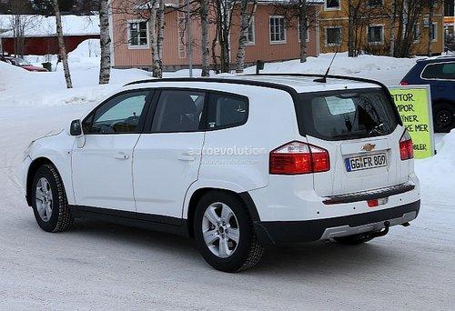 雪佛兰科帕奇suv谍照 基于全新d2xx平台 汽车之家高清图片