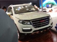 2013上海车展探馆 长城哈弗H8实拍解析