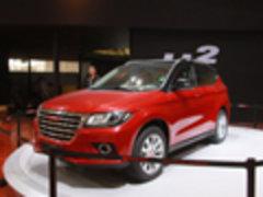 主攻紧凑级SUV市场 哈弗H2上海车展实拍