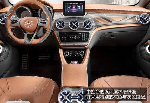 外观接近量产 奔驰GLA紧凑SUV车展实拍